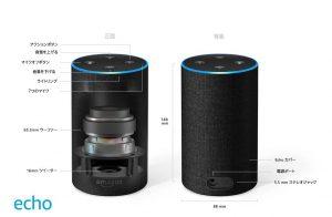 Amazon Echo[Alexa スマートスピーカー]