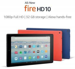 Amazon Fire HD[Alexa対応タブレット]