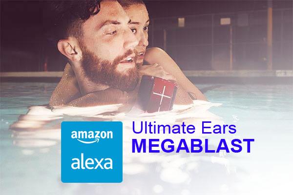 Ultimate Ears MEGABLAST[Alexa スマートスピーカー]