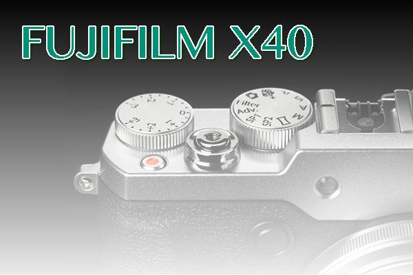 FUJIFILM X40・後継機のうわさ
