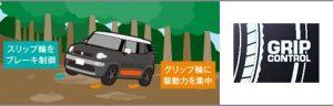 4WD システム[2018 クロスビー 機能・仕様]