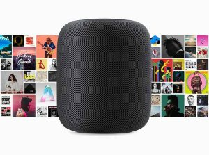 Apple Music・Siri[Apple HomePod]