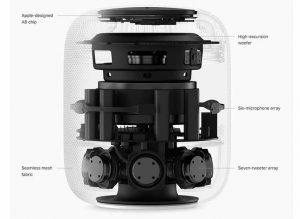 スマートスピーカー内部構造[Apple HomePod]