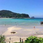 根獅子の浜海水浴場[きれいな長崎 白浜ビーチ]