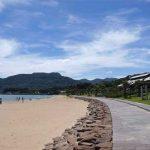千里ヶ浜海水浴場[きれいな長崎 白浜ビーチ]