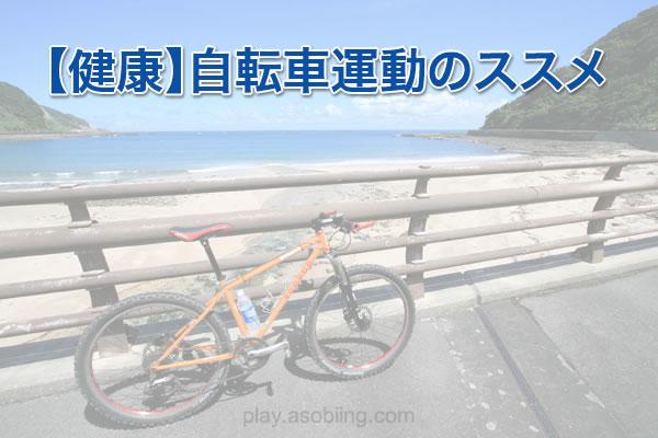健康維持と効果[自転車運動・スポーツ]