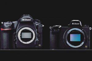 Nikon D850 サイズ比較[Zマウント新型フルサイズミラーレス]