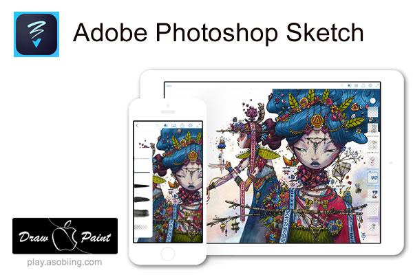 Photoshop Sketch(フォトショップ・スケッチ)[iPad Pro イラストアプリ]