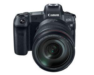 カメラボディ外観[Canon EOS R]