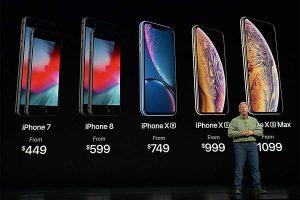 2018年 iPhone 価格値下げ[新型 iPhone XR / Xs 発売]