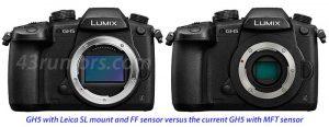 Leica SL / LUMIX MFT マウント[新型フルサイズミラーレス]