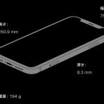 筐体サイズ・重量[新型 iPhone XR 発売]