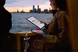 iPhone への給電機能[2018 新型 iPad Pro]