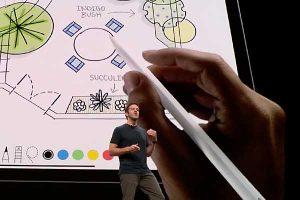 Apple Pencil 2 ダブルタップ[2018 新型 iPad Pro]