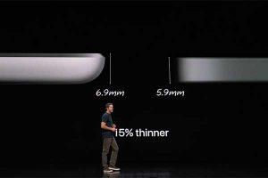 5.9mmの薄板筐体[2018 新型 iPad Pro]