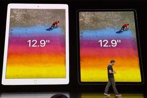 新旧12.9インチ比較[2018 新型 iPad Pro]