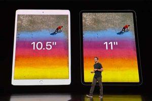 11 / 10.5インチ比較[2018 新型 iPad Pro]