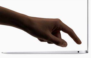 指紋認証 Touch ID[2018 新型 MacBook Air]