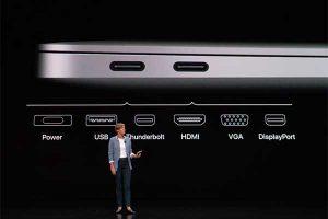 Thunderbolt 3 機能[2018 新型 MacBook Air]