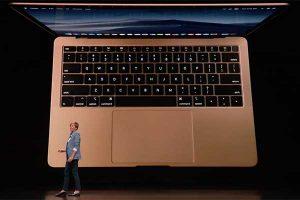 タッチトラックパッドとバックライトキー[2018 新型 MacBook Air]