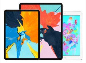 新旧モデル3機種[2018 新型 iPad Pro]