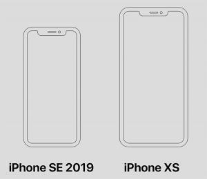 筐体サイズ[新型 iPhone SE 2]