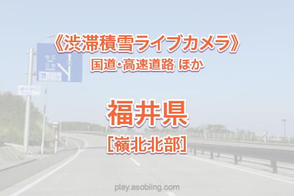 福井(嶺北北部)国道8号 他《渋滞積雪ライブカメラ》