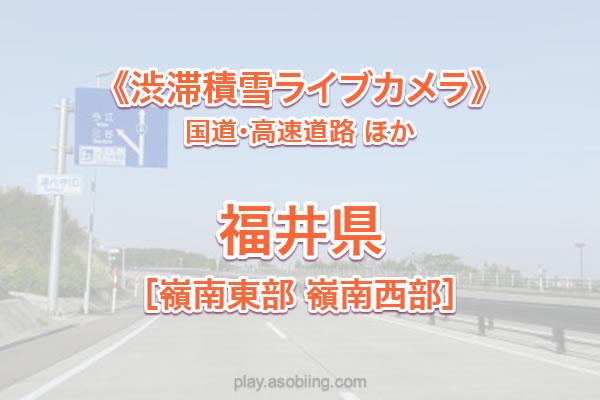 福井(嶺南)国道8号27号 他《渋滞積雪ライブカメラ》