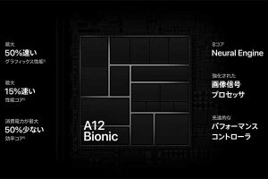 A12 Bionic チップ[2018 iPhone XR]