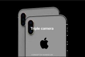 トリプルレンズカメラ[2019 新型 iPhone]
