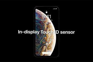 画面組み込み Touch ID[2019 新型 iPhone]