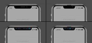 スピーカー位置変更 ノッチ領域削減[2019 新型 iPhone]