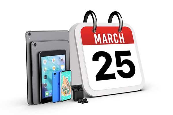 2f6962c5a4 2019年3月25日開催[2019 Apple 新製品発表イベント]