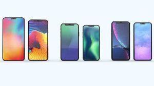 新サイズ OLED パネル[2020 新作 iPhone 12]