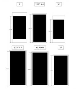 サイズ比較[2020 新作 iPhone 12]
