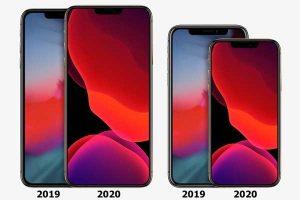新旧モデル サイズ比較[2020 新機種 iPhone 12]