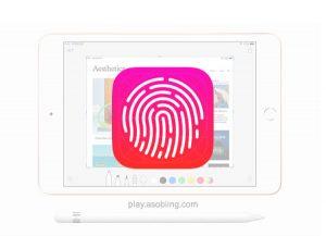 指紋認証Touch ID[2019 新型 iPad 7]