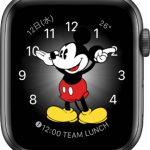 文字盤 ミッキーマウス/ミニーマウス[2019 新型 Apple Watch 5]