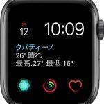 文字盤 インフォグラフモジュラー[2019 新型 Apple Watch 5]