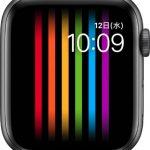 文字盤 プライド[2019 新型 Apple Watch 5]