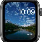 文字盤 タイムラプス[2019 新型 Apple Watch 5]