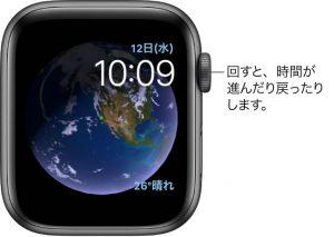 文字盤 アストロノミー[2019 新型 Apple Watch 5]