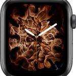 文字盤 火と水[2019 新型 Apple Watch 5]