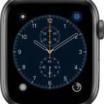 文字盤 クロノグラフ[2019 新型 Apple Watch 5]