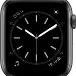 文字盤 シンプル[2019 新型 Apple Watch 5]
