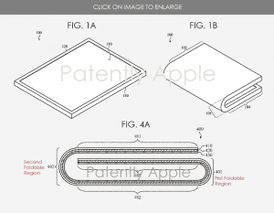 折りたたみディスプレイ特許[2021 新型 折りたたみ iPhone]