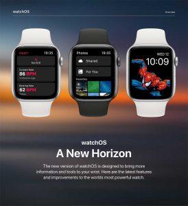 watchOS 6 コンセプト[2019 新機種 Apple Watch 5]