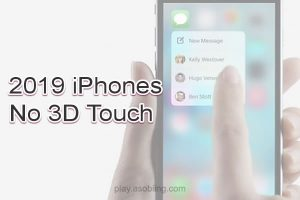 3D Touch 廃止[2019 新機種 iPhone]
