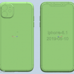 CAD画像リーク[2019 新機種 iPhone 11]
