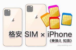 オススメ MVNO 比較[iPhone iPad 格安 SIM]